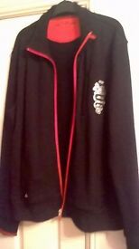 Black and red Alfa Romeo jacket (size XL but comes up as Large really)
