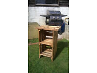 Small Handmade Wooden Side Table