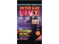 2 x Peter Kay tickets for Nottingham