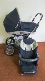BEBECAR PRAM WITH CARRY COT AND SEAT UNIT (4016882)