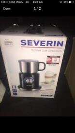 Sealed severin SM9688 induction milk frother