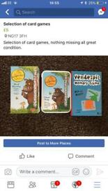 Child's card games