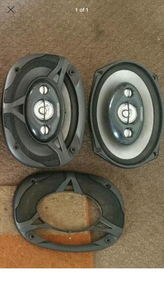 Kenwood 6x9 speakers - 180 watts