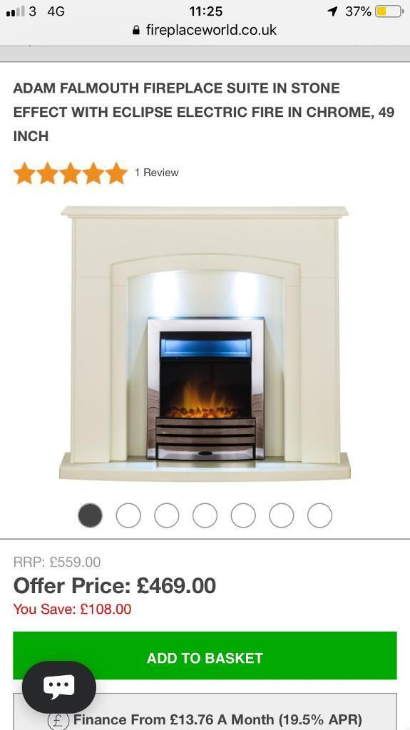 Full Electric Fireplace With Fire In Halifax West Yorkshire Gumtree