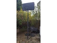 Full Size Basketball Stand Hoop Net Backboard