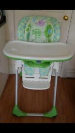 Highchair Chicco Polly 2 in 1