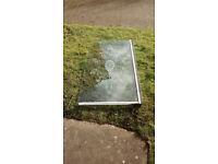Side Glass for bathtub