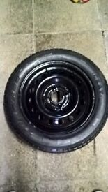 Full size spare wheel for Kia Picanto