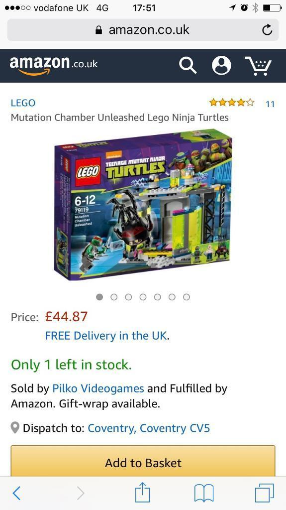Lego - Ninja Turtles - Mutation Chambers Unleashed