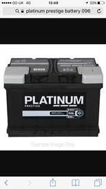 New car battery