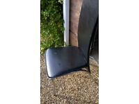 6 leather dinning chairs