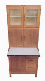1930s Easiwork Kitchen Utility Cabinet