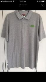 Mens north face polo