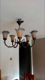 Antique style heavy light
