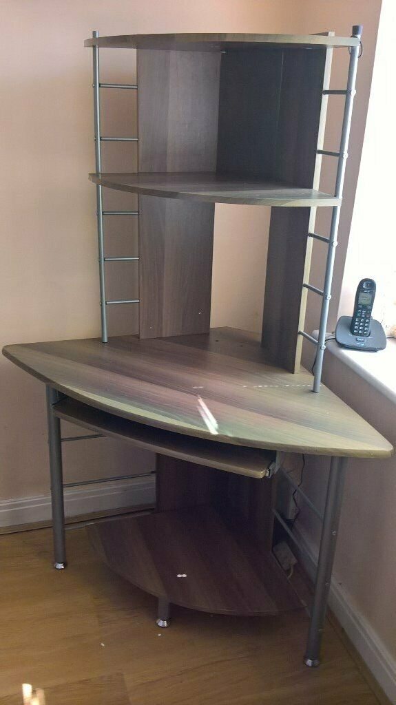 Corner Computer Desk With Slide Out Keyboard Tray In Hedon East Yorkshire Gumtree