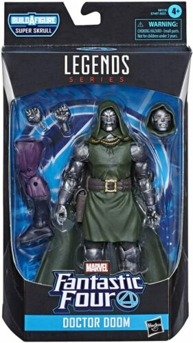 SHIPS 7/3! Fantastic Four Marvel Legends Doctor Doom 6-Inch Action Figure HASBRO