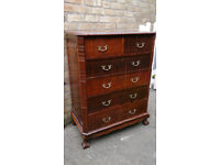 Antique Cape Dutch Solid Wood Chest of Drawers