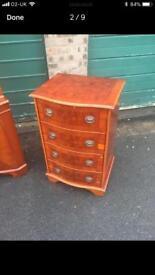 Yew wood furniture