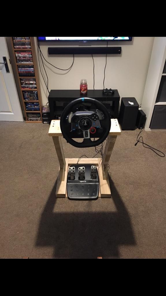 Logitech G29 Steering Wheel Ps4 With Stand If Wanted In Guildford