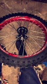 Pitbike/crosser wheels