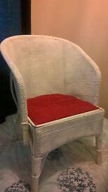 Lloyd loom style chair