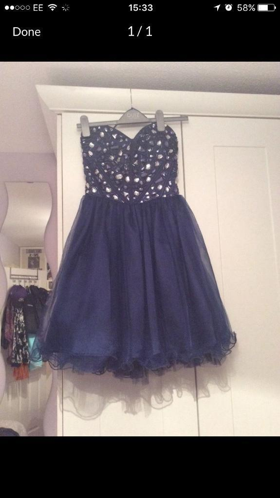 Party dress size 8in West Calder, West LothianGumtree - Good condition Great for kids proms Quiz dress Open to offers Worn once