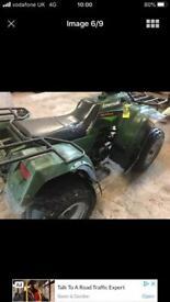 Kawasaki klf220 quad atv