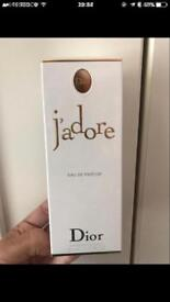 Dior J'adore Eau de parfum new in box 50ml