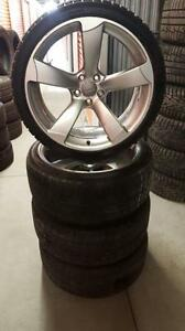 (47) Pneus d'Hiver - Winter Tires 255-35-20 Bridgestone
