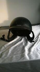childs horse riding helmet size 55cm-57cm