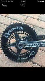 Rotor Cranks with QRings