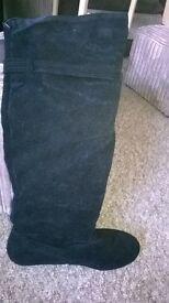 Ladies long Black Boots