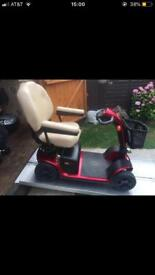 Any Terrain Capable Pride Colt Plus Mobility Scooter Portable 21 Stone Capacity Only £185