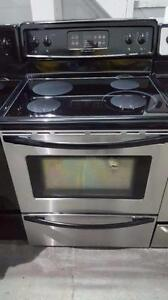 Frigidaire stainless steel glass top  FREE DELIVERY AND INSTALL