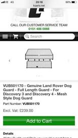 LAND ROVER DISCOVERY 3/4 full travel dog guard