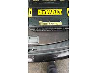 dewalt empty drill carry case