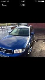 Audi A4 Quattro 6 speed