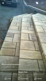 Special offer, patio paving, only £11 per square metre.