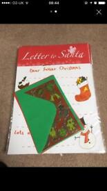 33 packs letter to Santa