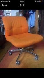 Super seventies Panton era Steelcase swivel chair