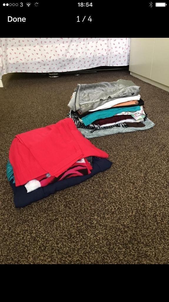 A bundle of clothes