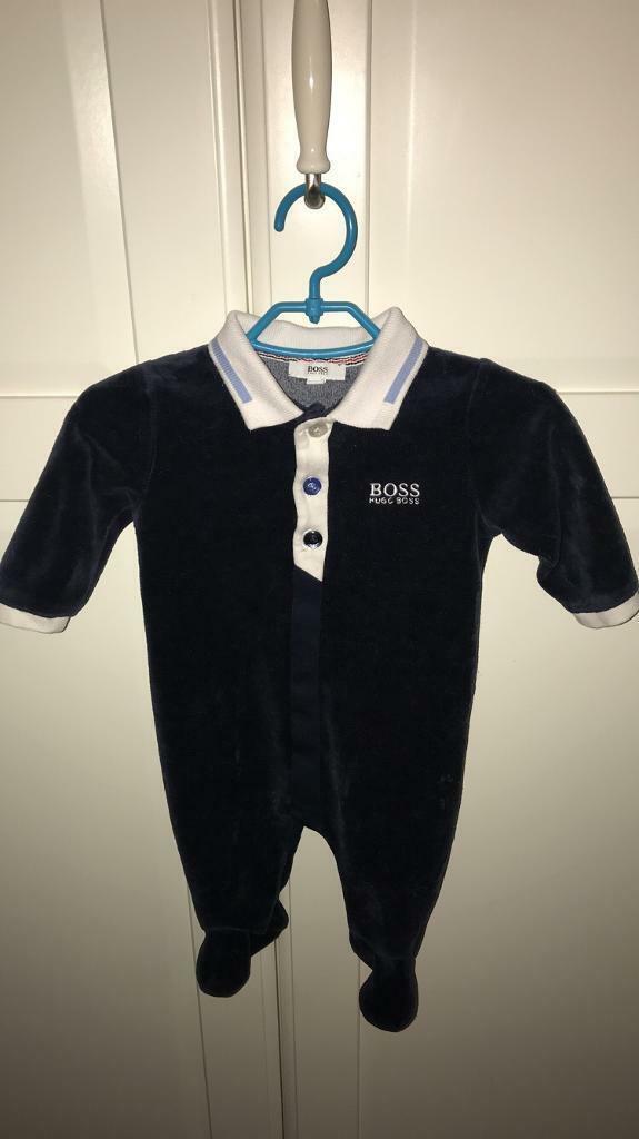 84c4a0646eac Hugo Boss baby grow 0-3 months