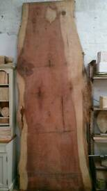 Giant Redwood Sequoia Slab live edge worktop table kitchen island dried