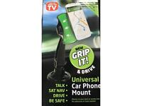 Universal car mount for mobiles etc as seen on tv