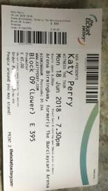 Katy Perry tickets x2