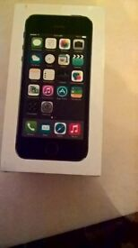 iphone 5s box new (no charger or earphones)