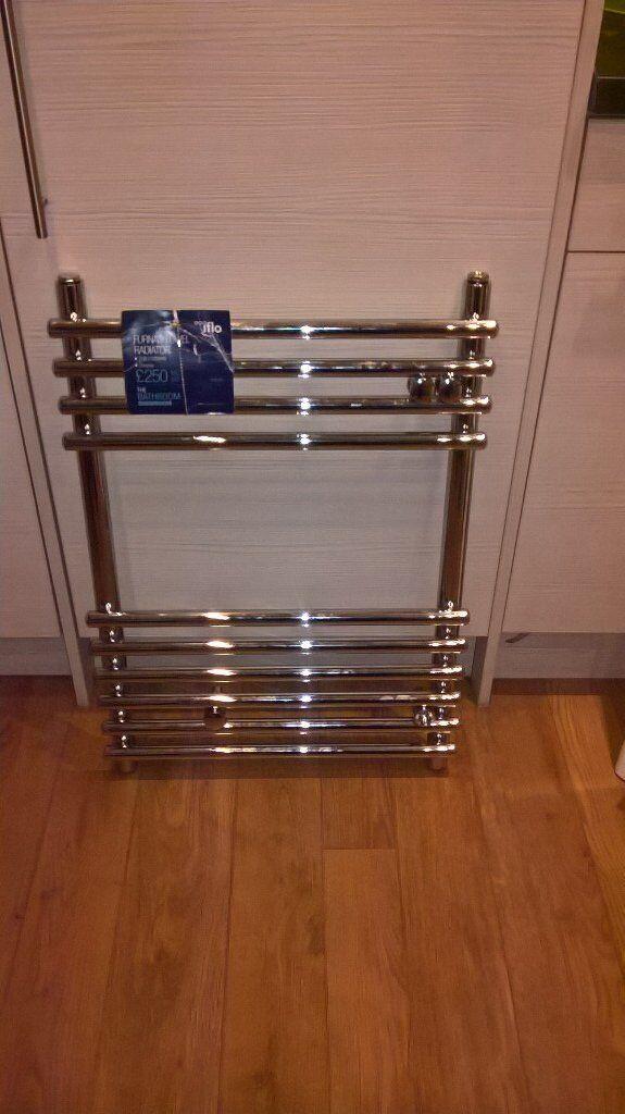 brand new towel radiator chrome