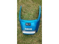 YAMAHA RD250LC RD 250 350 LC 4L0 4L1 CANDY BLUE TAIL PIECE PANEL - SPARES PARTS