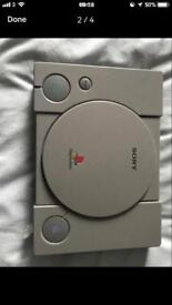 PlayStation one + games bundle