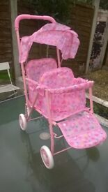 Duo Doll Pushchair